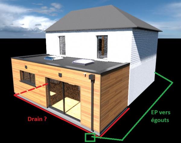 extension drain sur terrain argileux 18 messages. Black Bedroom Furniture Sets. Home Design Ideas