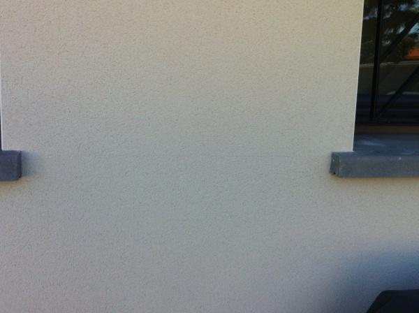 Fissures crepi pres des appuis beton 8 messages for Fissure appui de fenetre