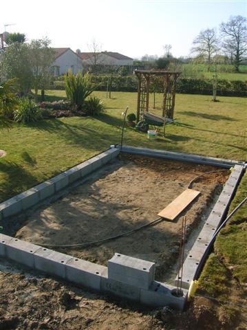 Fondation dalle abris de jardin en agglo - 31 messages