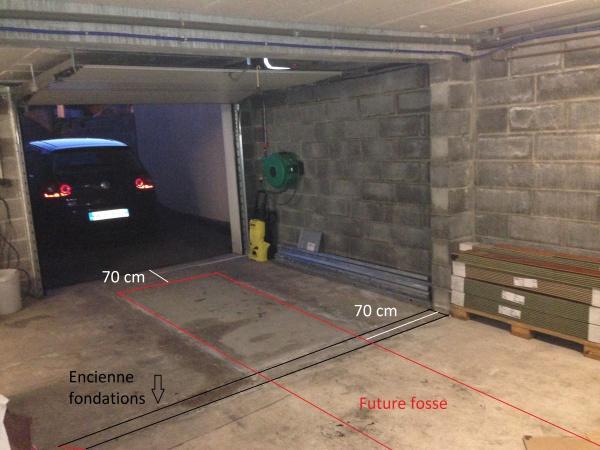 Fosse garage 11 messages for Faire une fosse de garage