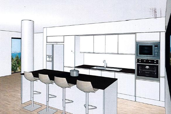 frigo am ricain dans l 39 angle d 39 un mur 37 messages. Black Bedroom Furniture Sets. Home Design Ideas