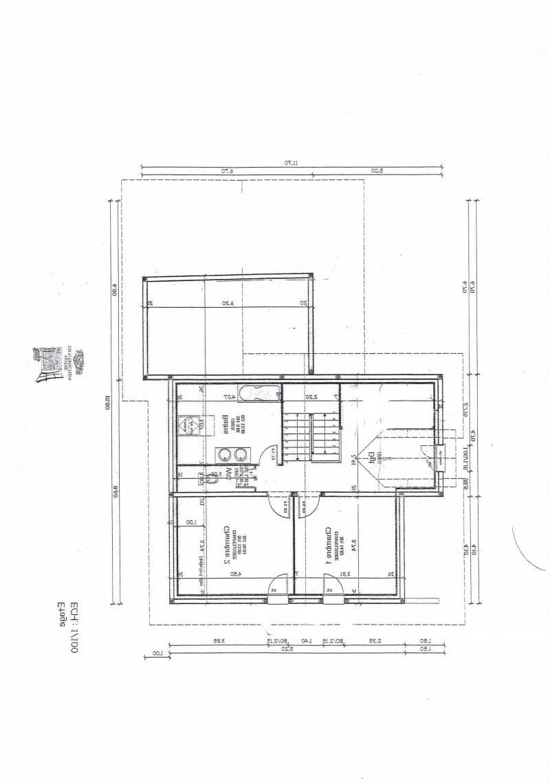 Gallery of bon il y a peu de chance que les surfaces for Maison demi niveau plan