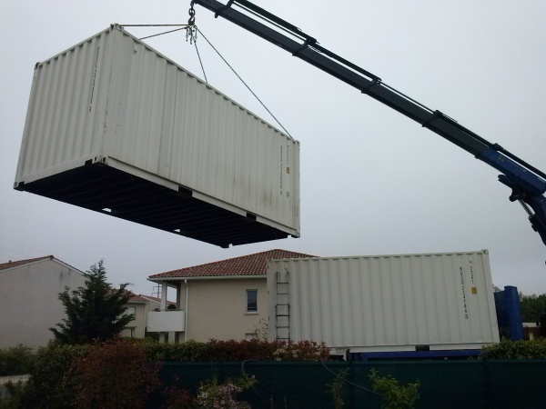 Garage En Container Maritime 33 Messages