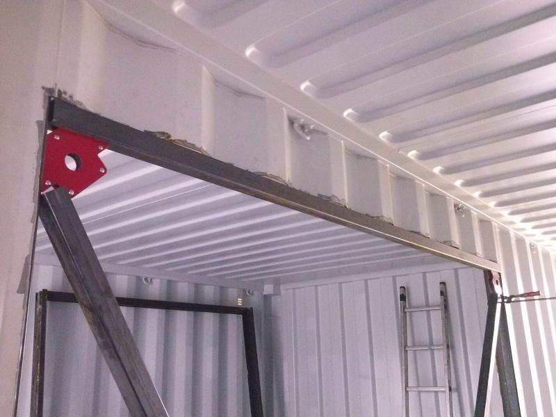 Garage en container maritime 33 messages page 2 for Isoler un conteneur