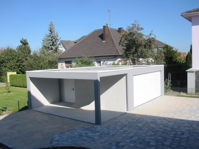 Garage pr fabriqu ou construit 10 messages - Construction garage prefabrique beton ...