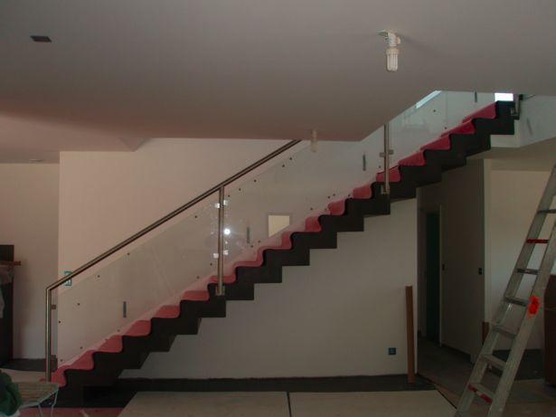 Garde corps Inox escalier béton contemporain - 28 messages