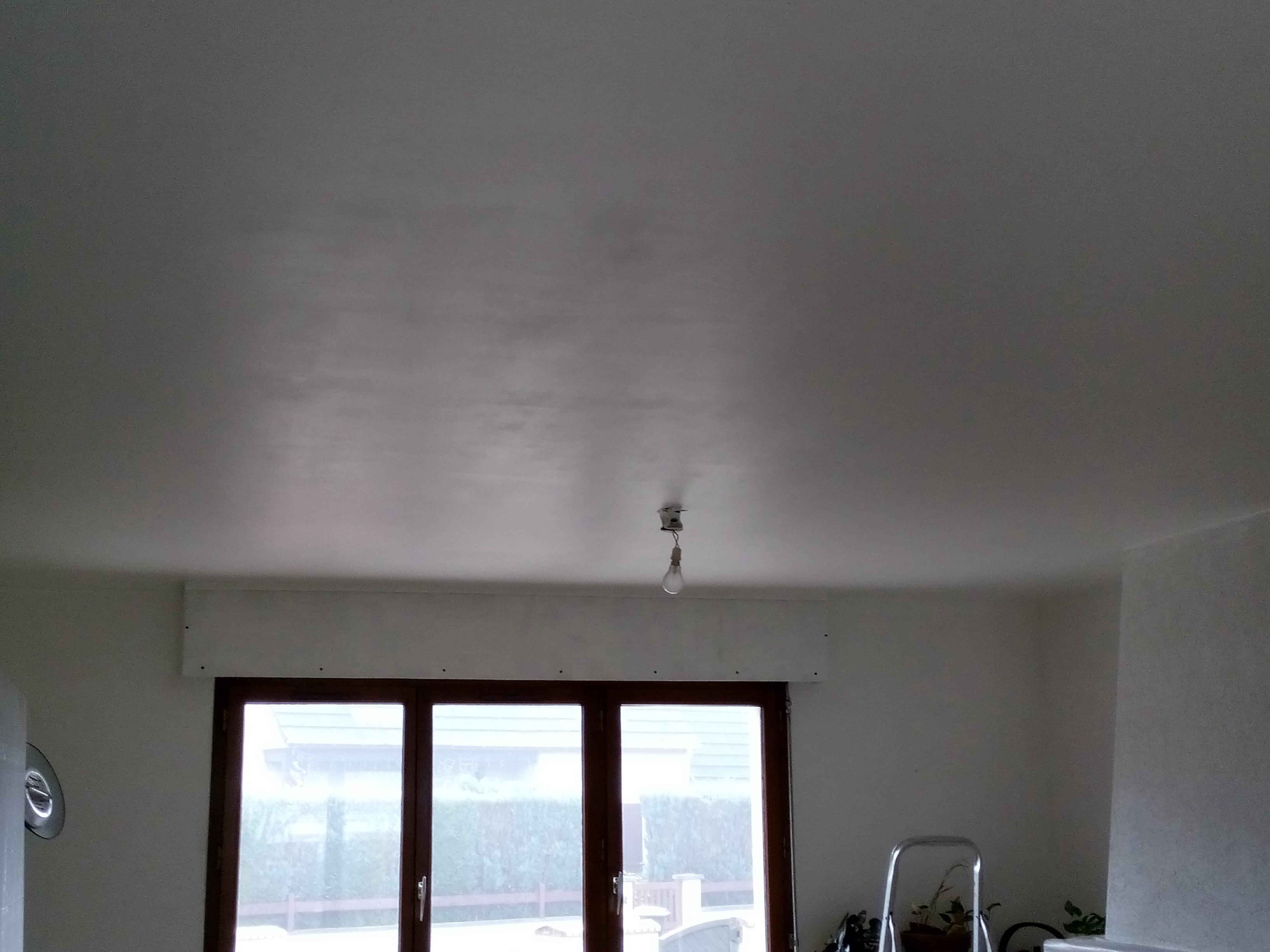Gros probl me de peinture plafond 35m2 53 messages for Peinture plafond