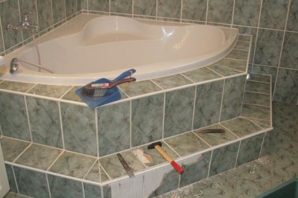 Comment habiller une baignoire d 39 angle 35 messages page 3 - Habiller une baignoire ...