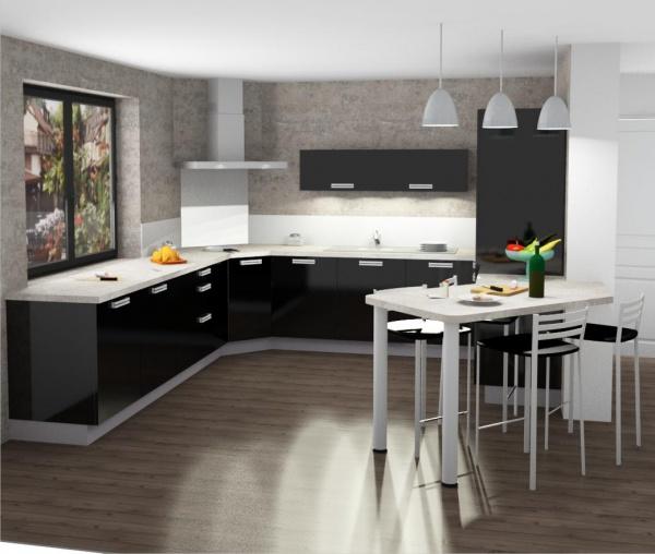 idee plan de travail latest des plans de travail qui ont du relief with idee plan de travail. Black Bedroom Furniture Sets. Home Design Ideas