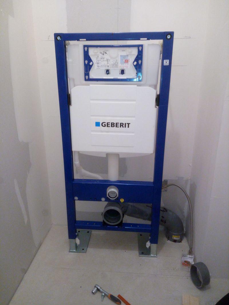 Raccordement Wc Suspendu Geberit branchement chasse d'eau geberit up 320 - 6 messages