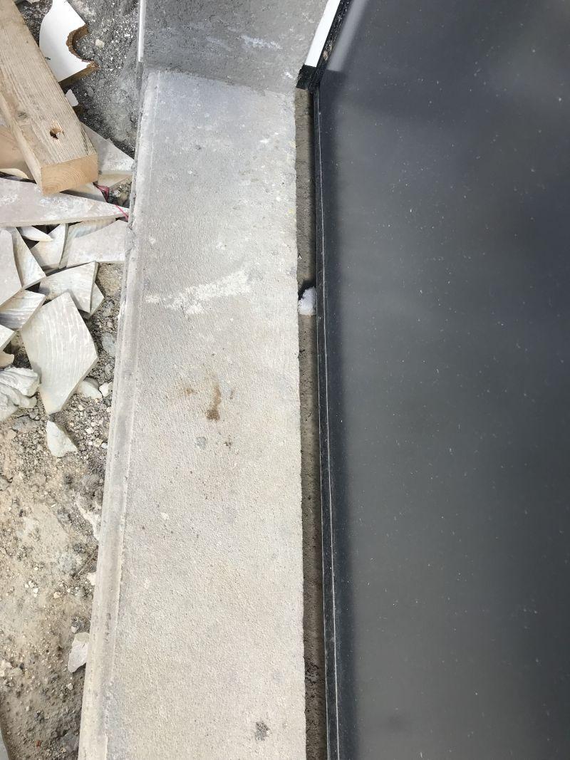 Seuil De Porte Différence De Niveau seuil beton porte de garage - 14 messages