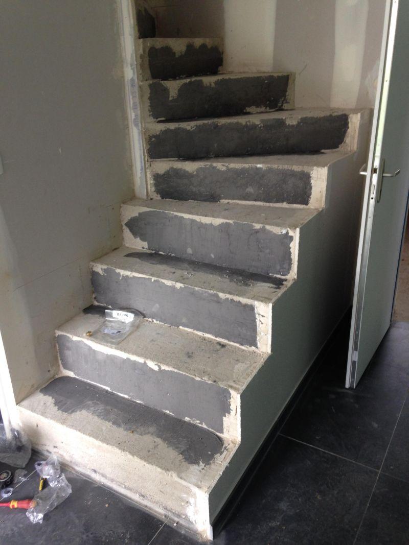 Recouvrir Un Escalier En Béton livraison maison avec escalier béton en l'état [résolu] - 19