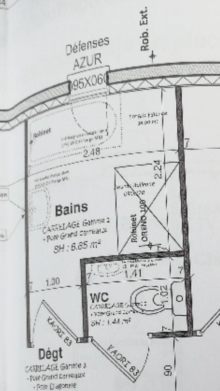 Avis Plan De Salle De Bain Douche Baignoire Resolu 36
