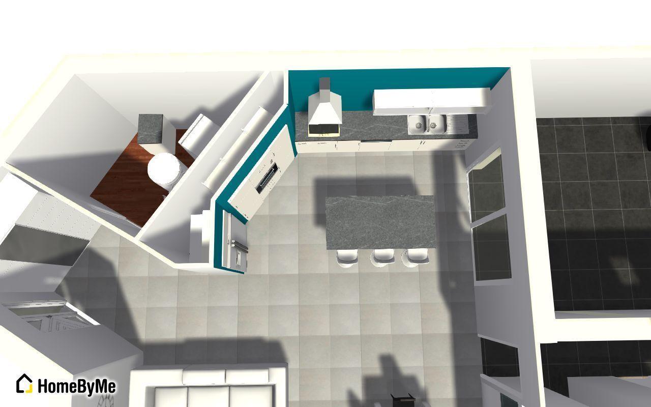 implantation cuisine avec angle ouvert 53 messages. Black Bedroom Furniture Sets. Home Design Ideas