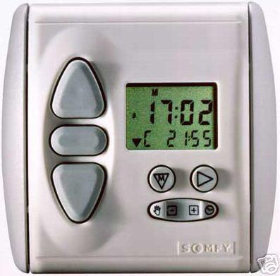 info sur horlog radio chronis rts somfy 12 messages. Black Bedroom Furniture Sets. Home Design Ideas