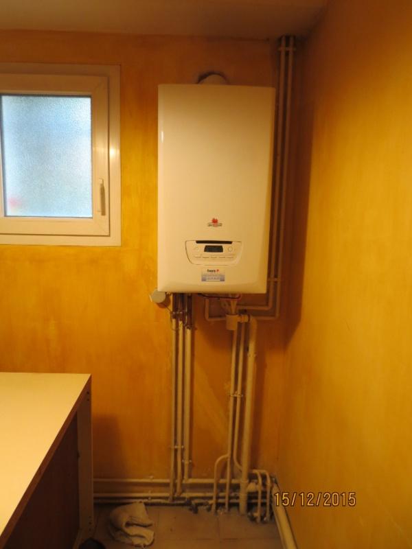 Installation d 39 une chaudi re gaz condensation chez mes grands parents - Chaudiere a gaz a condensation ...