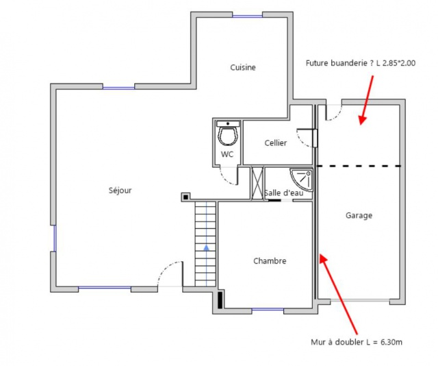 isolation mur sur garage c t garage 13 messages. Black Bedroom Furniture Sets. Home Design Ideas