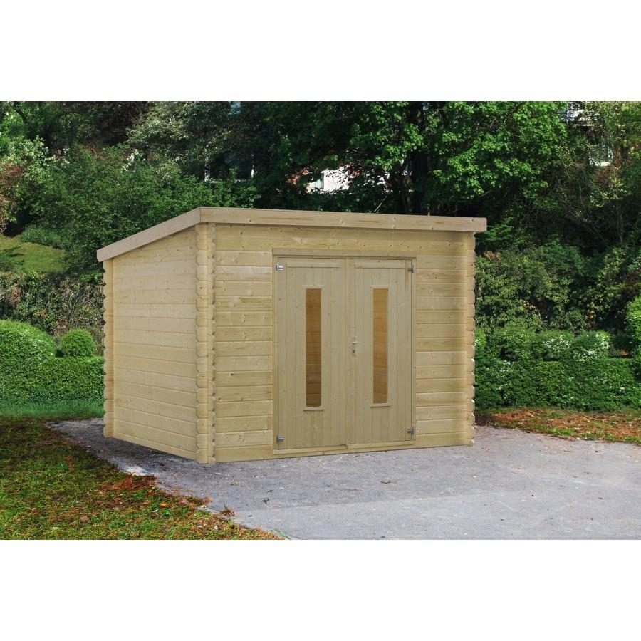 comment fabriquer un abris de jardin en bois. Black Bedroom Furniture Sets. Home Design Ideas