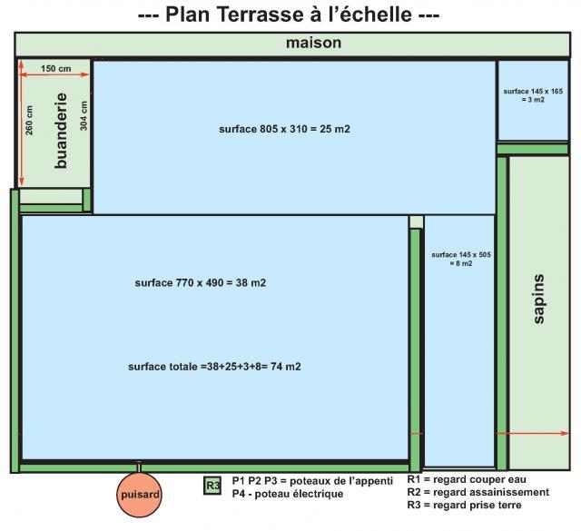 Joint de dilatation terrasse de 74m2 13 messages for Joint de dilatation carrelage terrasse