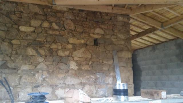 Linteau Beton Ou Bois Essence Dans Mur En Pierre   Messages