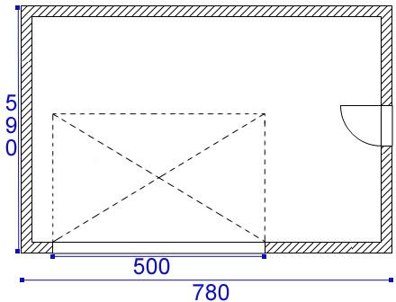 Linteau d 39 une port e de 5m 18 messages - Porte de garage 5 metres ...