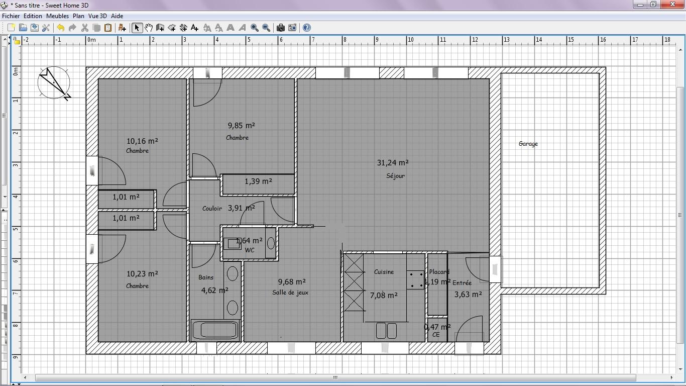 Maison pp 100m garage 20m 121 messages page 3 for Porte 90x215