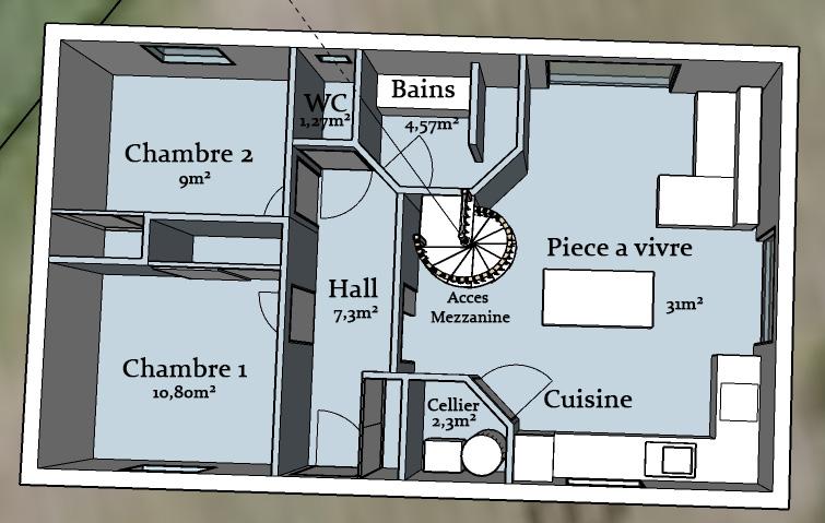 Votre Avis Sur Ce Plan De Petite Maison Avec Mezzanine 27 Messages