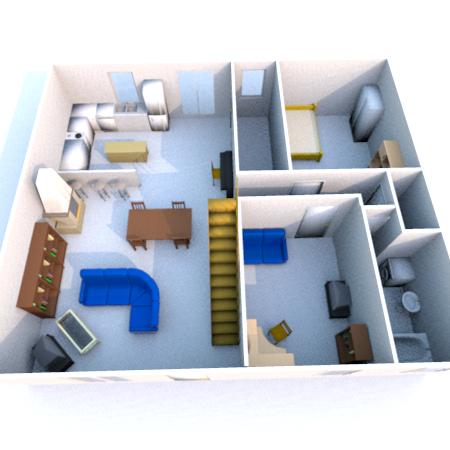 Construction esvres dans le 37 esvres indre et loire for Exemple maison sweet home 3d