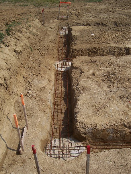 M lange de techniques de fondations puits et semelles 18 for Technique pour creuser puit