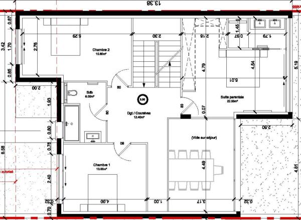 ou mettre le bureau sur ce plan projet de maison r solu 48 messages. Black Bedroom Furniture Sets. Home Design Ideas