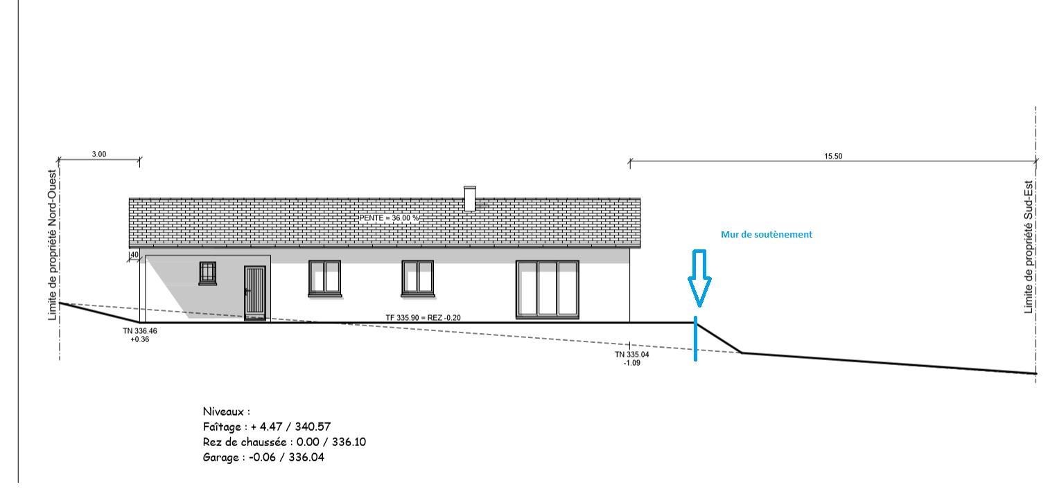 construire sa maison hauteur en limite de propriete. Black Bedroom Furniture Sets. Home Design Ideas