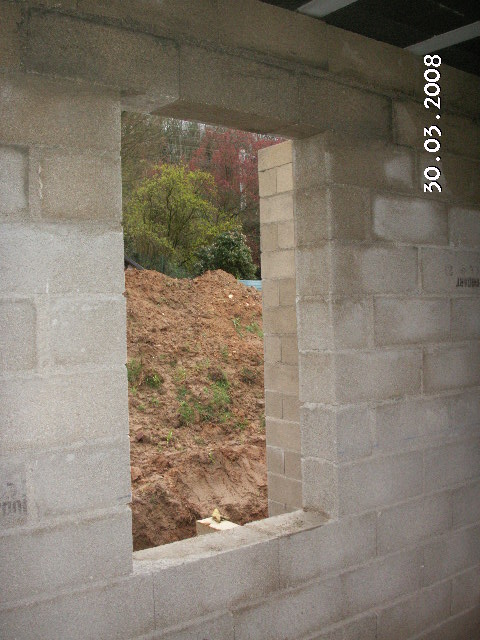 Façade Avant (au Rdc, Porte Du0027entrée Et Fenêtres, Sauf Baie Galandée  Comportant Un Linteau Au Dessus Du Coffre) :