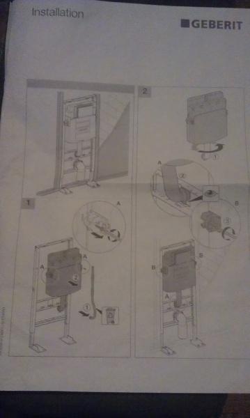 notice montage geberit up320 autoportant 9 messages. Black Bedroom Furniture Sets. Home Design Ideas