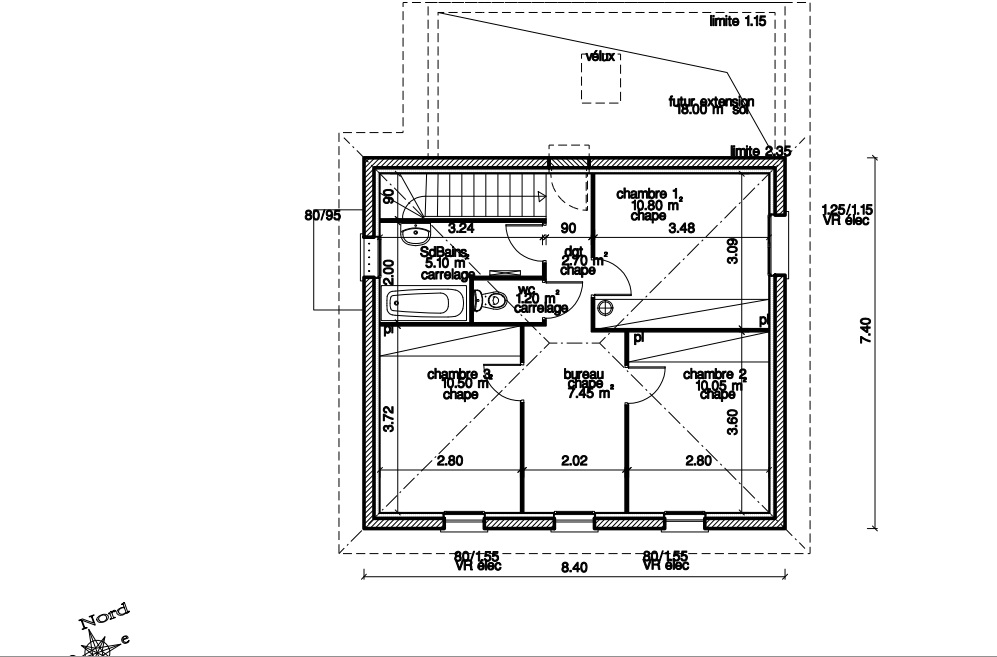 Plan maison cubique dz53 jornalagora for Plan de maison cubique