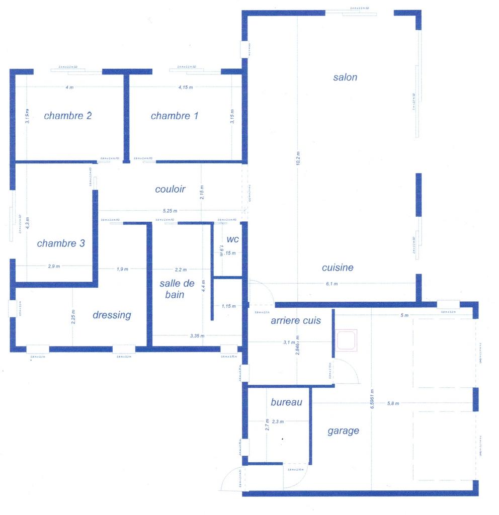 faire un plan d une maison faire construire une maison. Black Bedroom Furniture Sets. Home Design Ideas