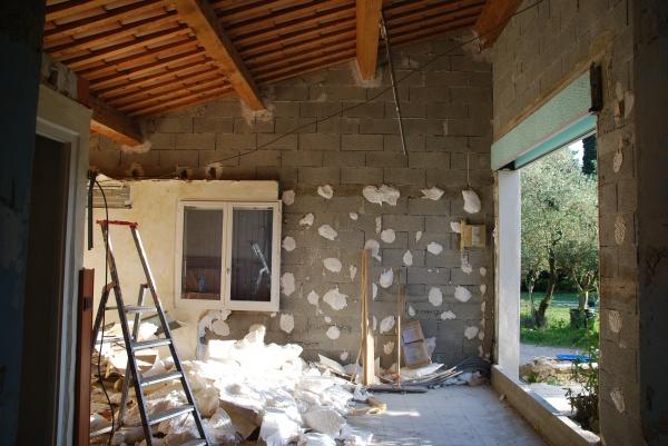 ouvrir un mur pour une baie vitr e pb de r sistance 5. Black Bedroom Furniture Sets. Home Design Ideas