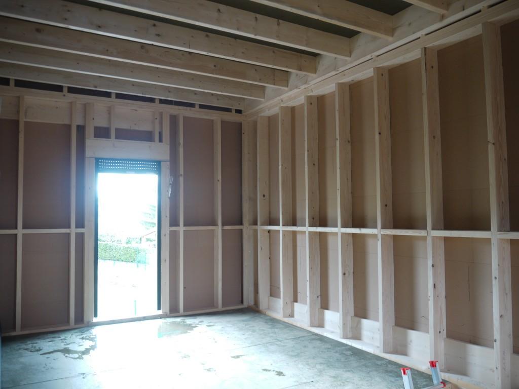 construction mob carrée toit plat, chalezeule (doubs) - Construire Garage Bois Toit Plat