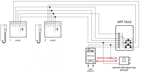 Wired Inter  Systems in addition Topic 247435 further  on urmet intercom wiring diagram