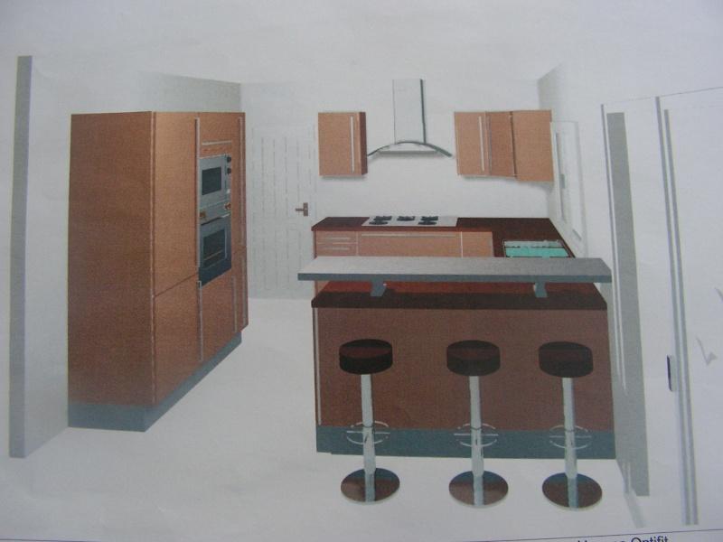 que pensez vous de ma cuisne en 3d fotos 15 messages. Black Bedroom Furniture Sets. Home Design Ideas
