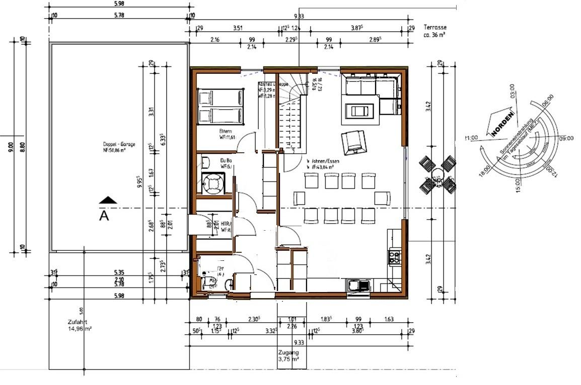 Que pensez vous de ce plan maison 150 m2 environ 55 for Plan maison cubique 150 m2