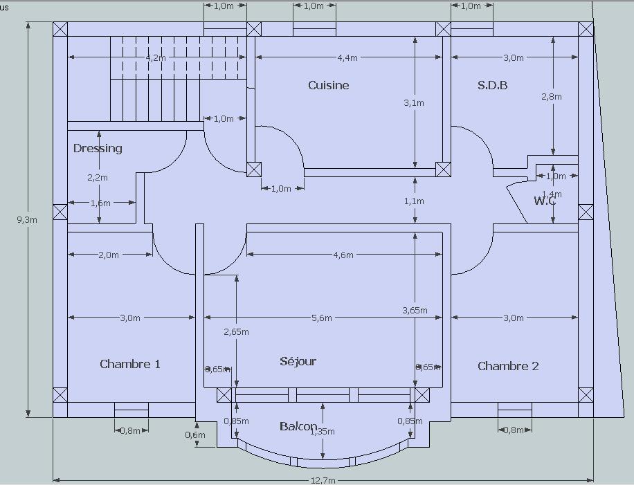 Que pensez vous de mon plan de villa svp 28 messages for Plant de villa
