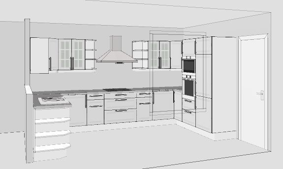 Ph nix 27 projet de cuisine 19 messages for Plan amenagement cuisine 10m2