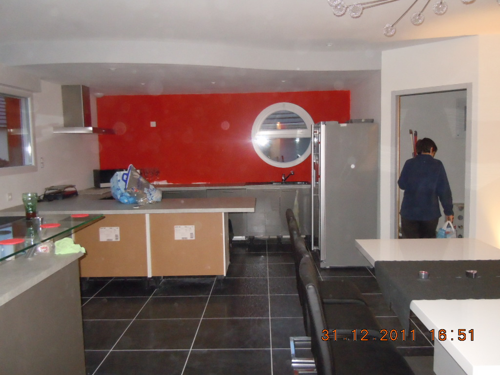 Photos de faux plafond avec lumi re indirecte groupes for Ba13 plafond cuisine