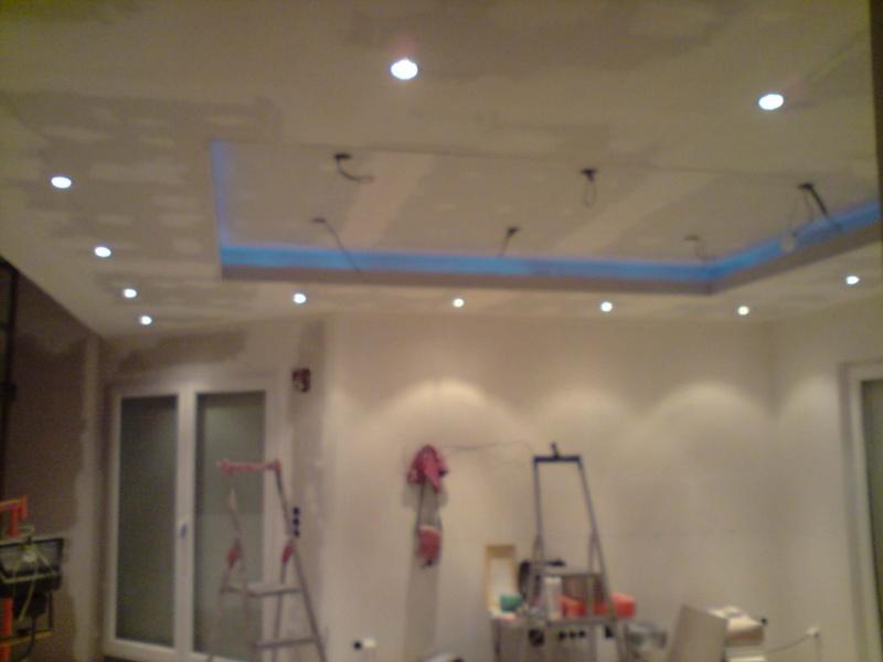 Plafond lumiere indirecte - Lumiere faux plafond ...