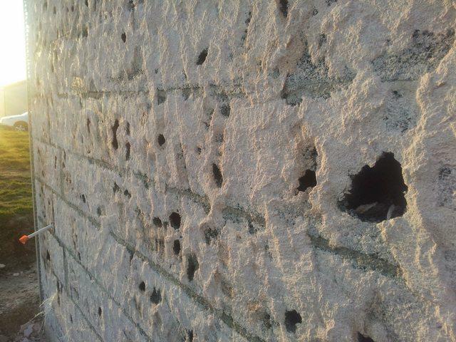 Piquage enduit sur mur en agglo c 39 est devenu du gruy re - Mur en agglo ...