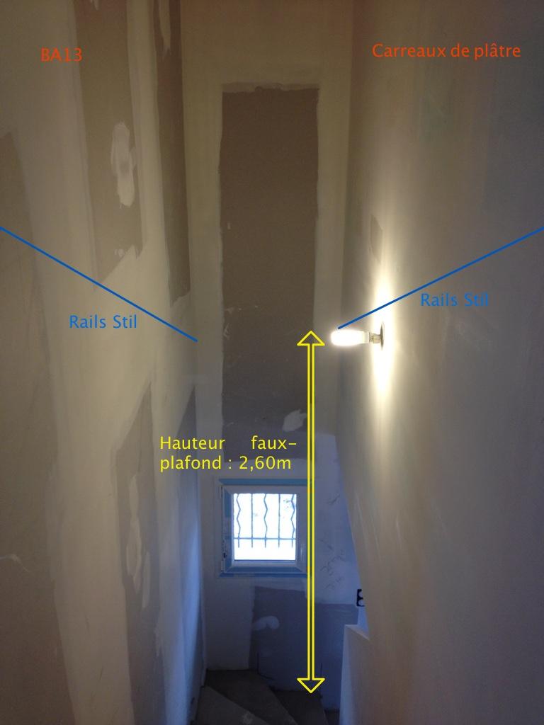 plafond rampant dans un escalier 11 messages. Black Bedroom Furniture Sets. Home Design Ideas