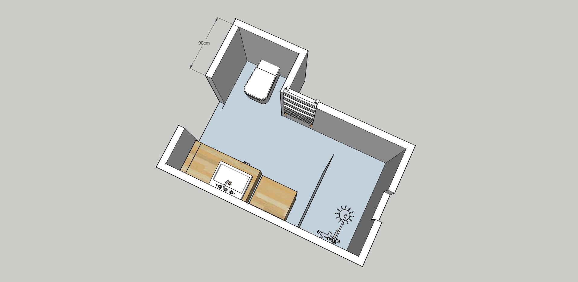 Plan d 39 am nagement petit salle d 39 eau 5 6m2 26 messages - Plan sdb m ...