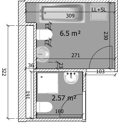 plan appartement de 120m2. Black Bedroom Furniture Sets. Home Design Ideas