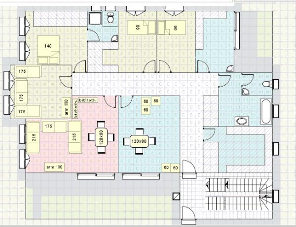 voil un plan d 39 appartement 2 5 messages. Black Bedroom Furniture Sets. Home Design Ideas