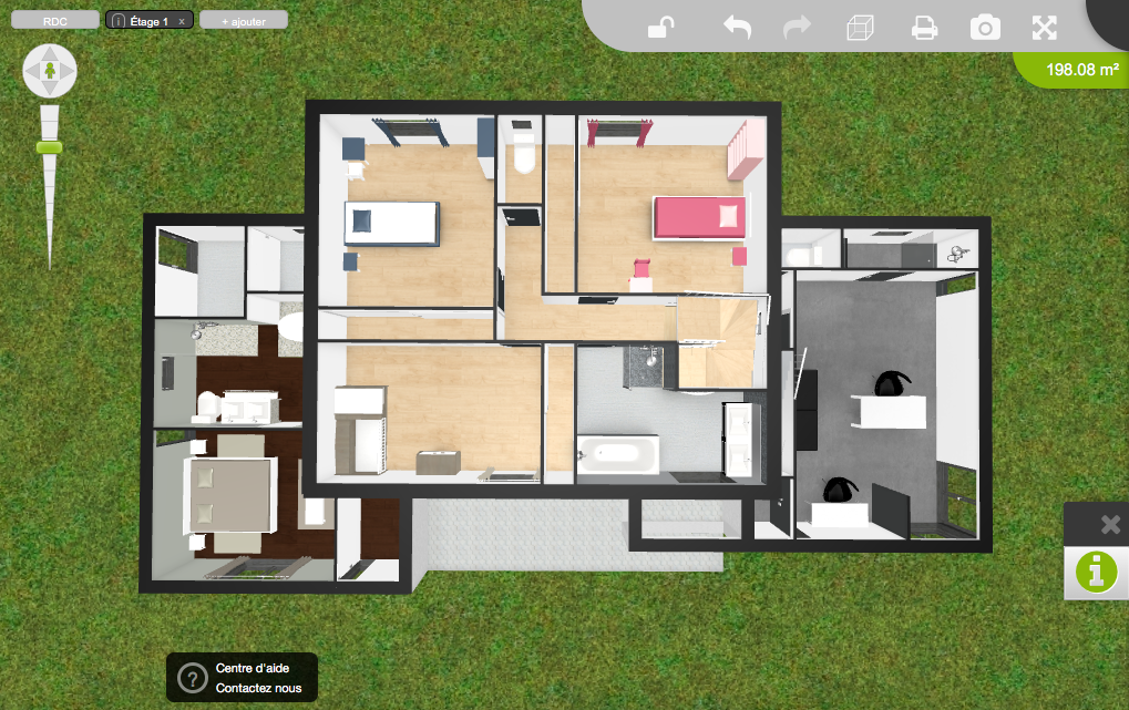 Plan de notre future maison de 200 m2 17 messages for Plan de maison 200m2